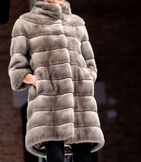 Long fur with high collar