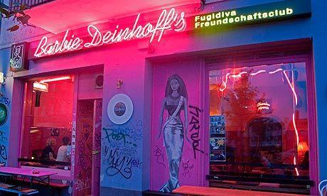Barbie Deinhoff's, Berlin - Lovely Gin Fizz, kitsch decor, fit bar staff x More information on #Berlin: visitBerlin.com