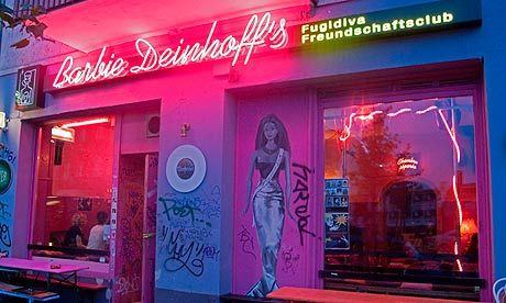 Barbie Deinhoff's, Berlin - Lovely Gin Fizz, kitsch decor, fit bar staff x More information on #Berlin: visitBerlin.com