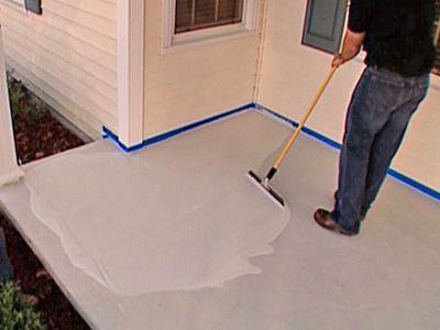 1000 ideas about painting concrete porch on pinterest - Enlever mousse terrasse beton ...