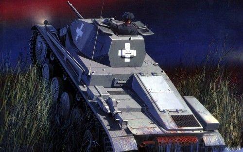 1939 Polonia Panzer II - Jaroslaw Wróbel