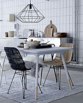 fir wood table by idyll home ltd | notonthehighstreet.com