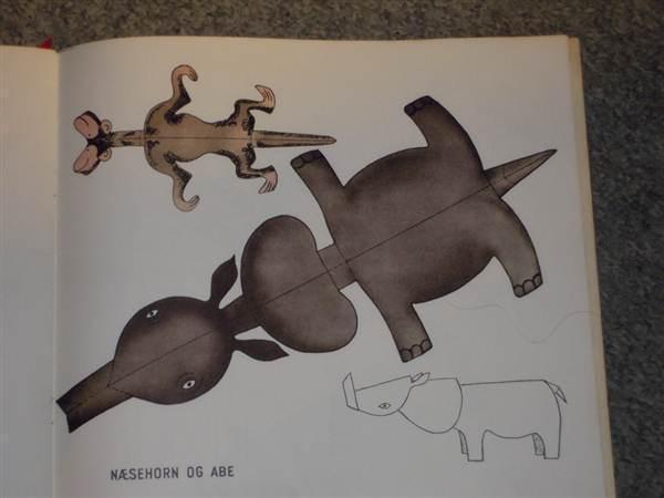 zoologisk have af hans scherfig. dyr til udklip og foldning_9