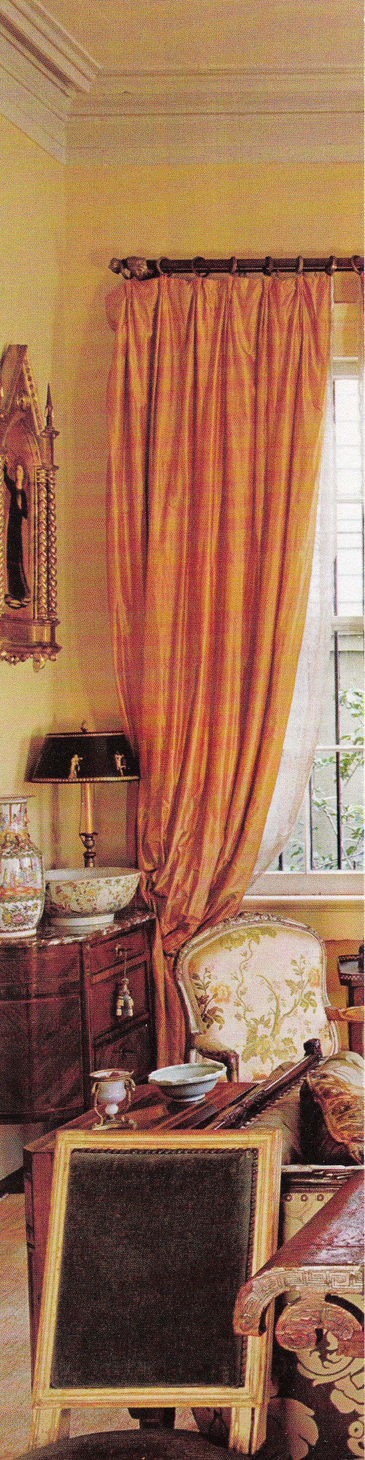 Antiques Dealer Interior Designer Patrick Dunnes New Orleans Home Southern Accents March April 2009