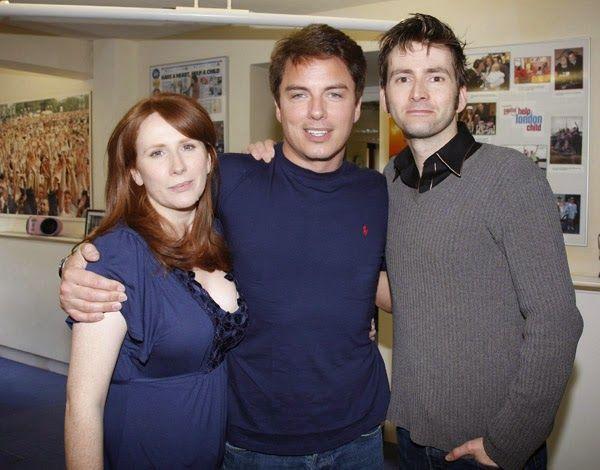 PHOTOS: David Tennant, Catherine Tate & John Barrowman in The Capital Radio Studios #ThrowbackThursday