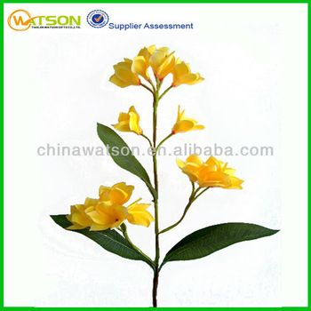 China factory price wholesale artificial loose plumeria flowers