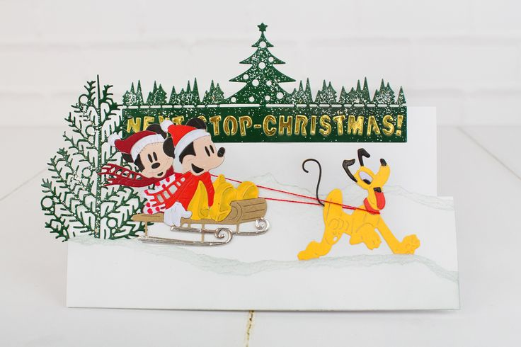 The gorgeous Disney Christmas Collection. For more information visit www.tatteredlace.co.uk