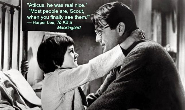 This quote is in reference to Scout finally meeting Boo Radley at the end of the book. This scene was actually near the beginning of the book when at bedtime Scout asked what Atticus will leave her if his pocket watch is to be Jem's?