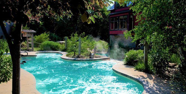 Scandinave Spa Blue Mountain Scandinavian Baths Day Resort Spa Scandinavian Baths Resort Spa Outdoor Spa