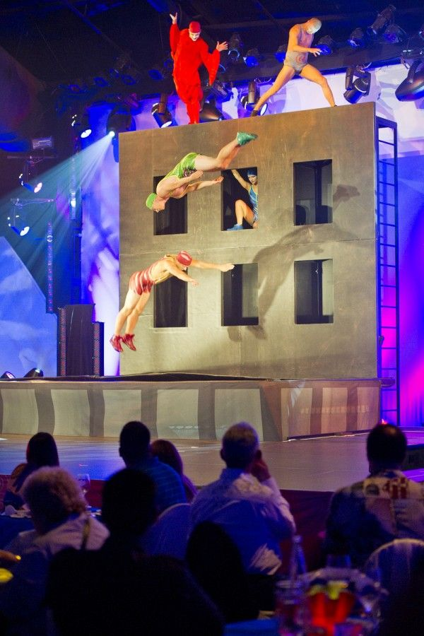 La Nouba ~ The Cirque du Soleil Show In Downtown Disney — Child Mode