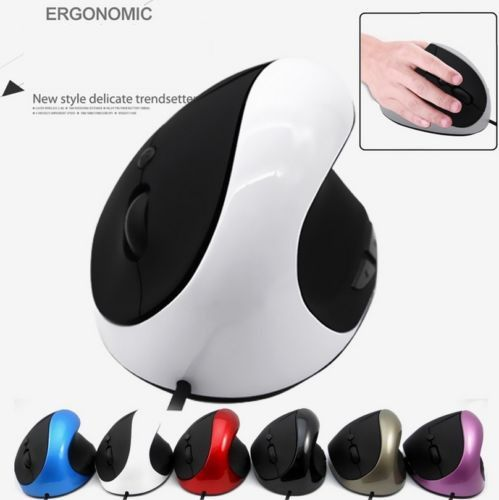 Wireless Ergonomic Vertical 2000DPI Gaming Mice Mouse For Laptop