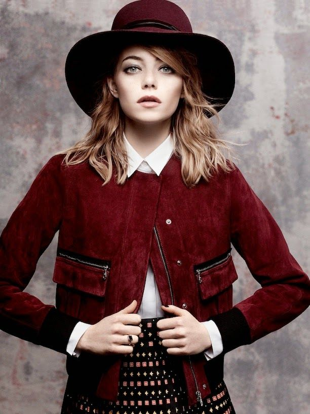 Black Carousel: Emma's Stone Vogue Cover May 2014