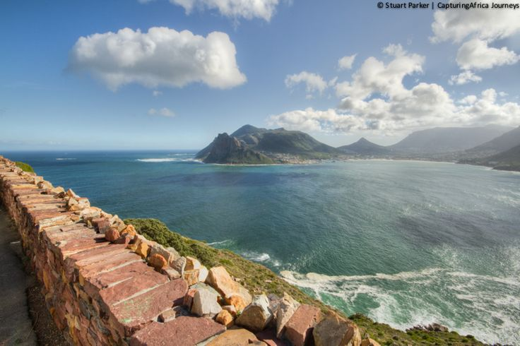 Hout Bay from Chapmans Peak Drive on my full day Cape Peninsula tour in Cape Town