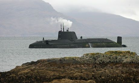 Nuclear submarine freed after running aground off Isle of Skye ...
