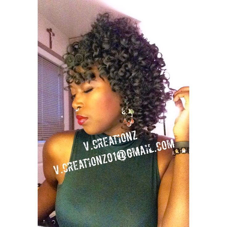 Crochet Braids Xpression : ... braids them forward crochet braids with hair left out using xpression