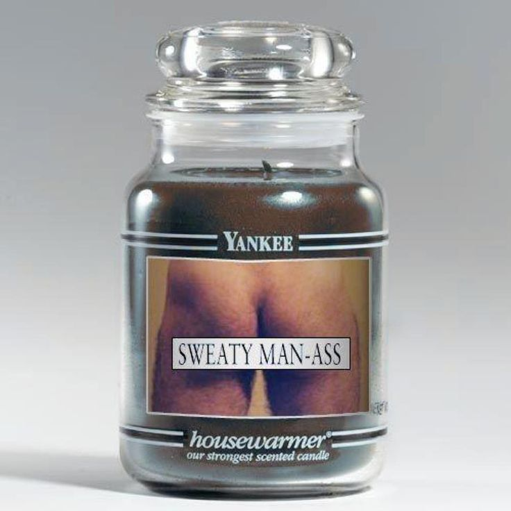 A Sweaty Man Candle Would Make Great White Elephant Holiday Gift