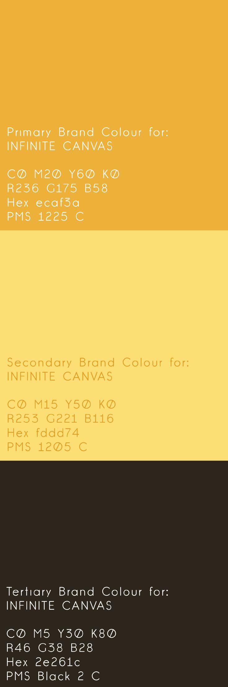 #brand development for @infinitecanvas by Inkling About Design 2014 www.inklingaboutd... #logo #branding #identity #graphicdesign