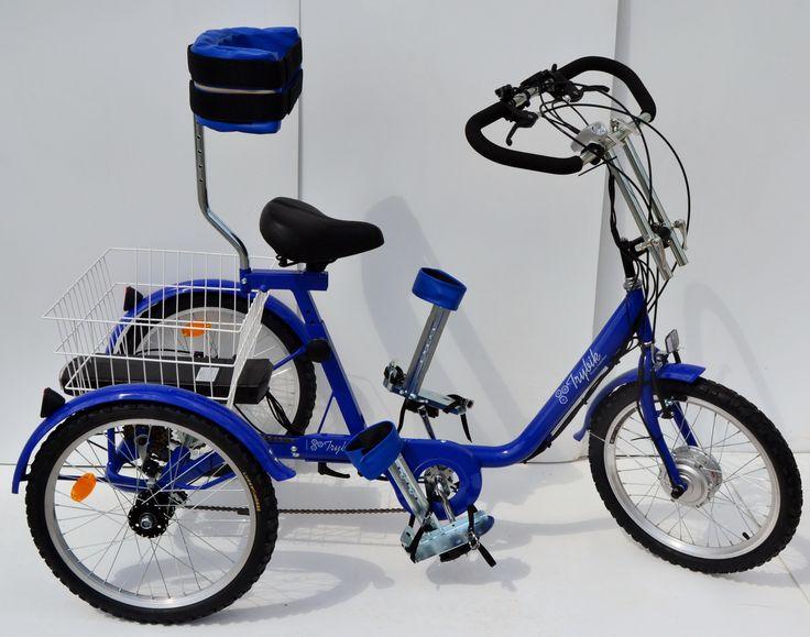 Rower trójkołowy elektryczny TRYBIK