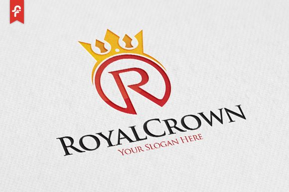 Royal Crown Logo by ft.studio on Creative Market