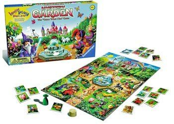 Magic Mystery and Castles all in one fun game. RAVENSBURGER Game Mystery Garden. Try to stop the gardener from reaching the castle by guessing the hidden object. Solve 3 mysteries and win the game. Suitable for 2 to 6 players. Ages 4+ years #toys2learn #ravensburger #boardgames #familyfun #Australia