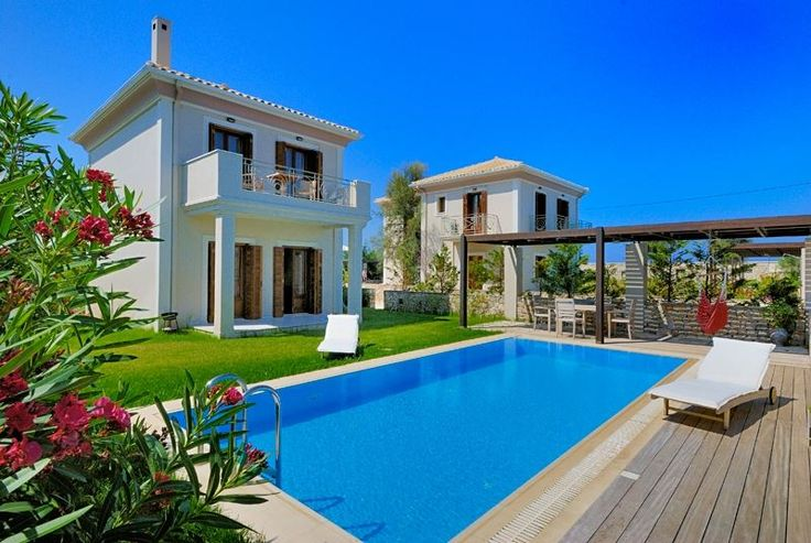 The spacious and elegant Aeriko villas