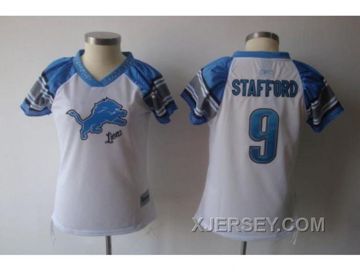 http://www.xjersey.com/2011-womens-field-flirt-fashion-nfl-detroit-lions-9-stafford-white-cheap.html 2011 WOMEN'S FIELD FLIRT FASHION NFL DETROIT LIONS #9 STAFFORD WHITE CHEAP Only $34.00 , Free Shipping!