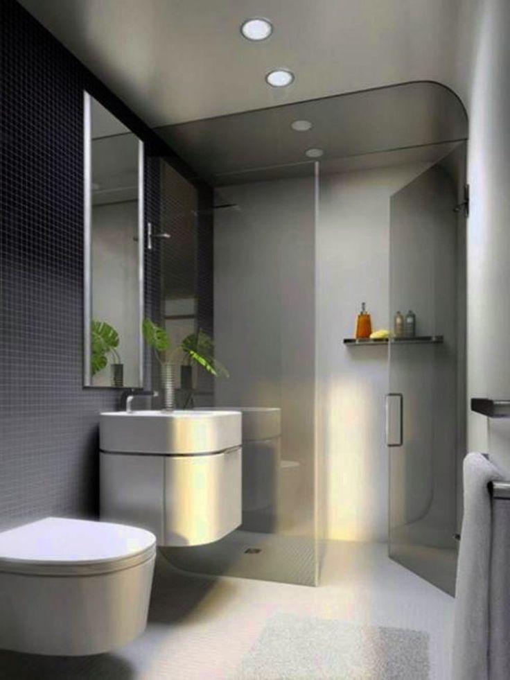 Modern Bathroom Designs For Small Bathrooms Dekorasi