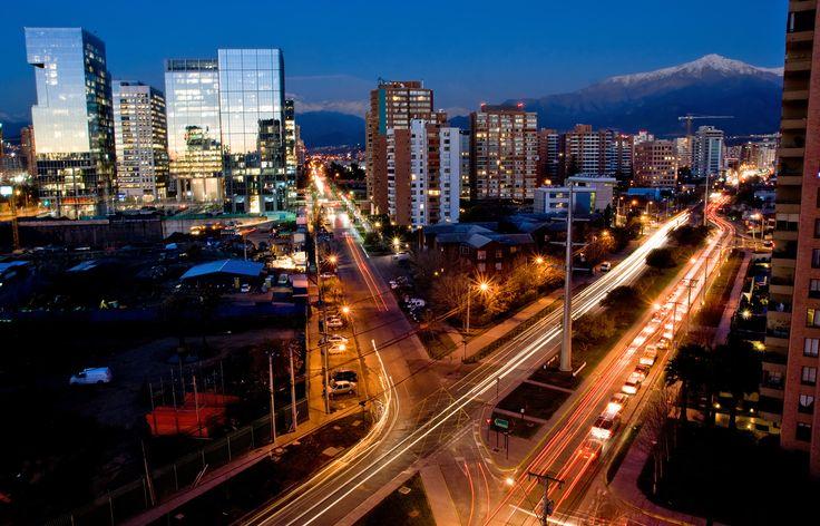 Santiago #noche #luces