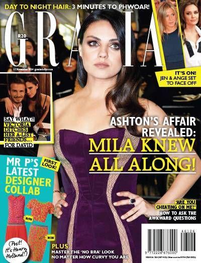 Grazia Magazine. Lifestyle. Gossip. Fashion. https://www.mysubs.co.za/magazine/grazia