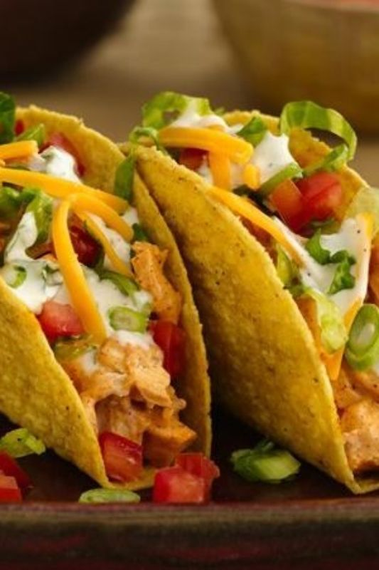 Everybody loves chicken, everybody loves Ranch, and everybody loves tacos. So this recipe is a win-win-win if you ask us! Use rotisserie chicken to make these tacos extra easy, or cook up some chicken if you have time.