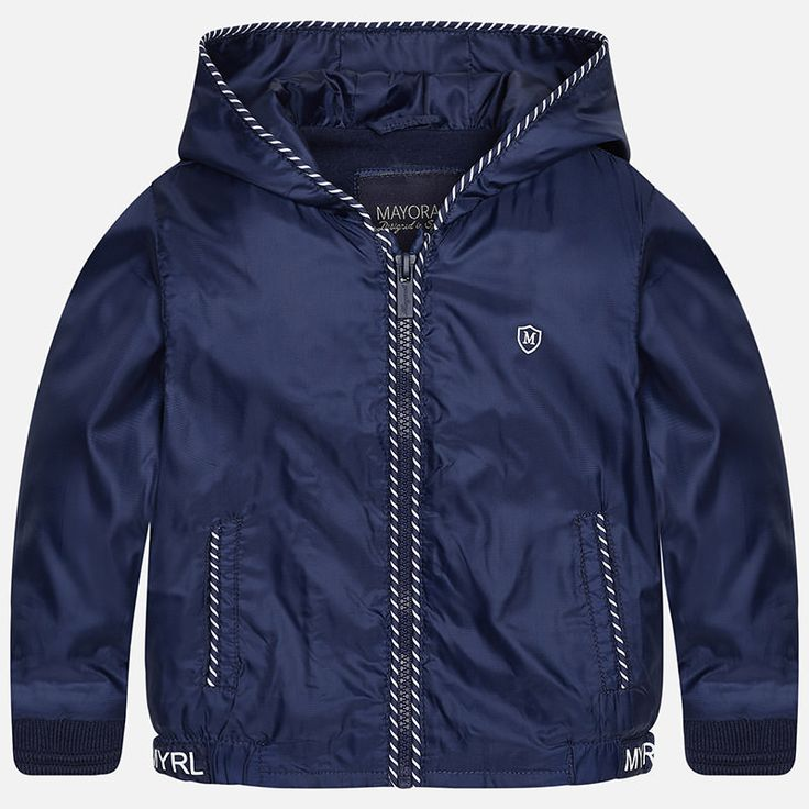 Mayoral Baby Boy Windbreaker in Navy  shopsugarbabies.com