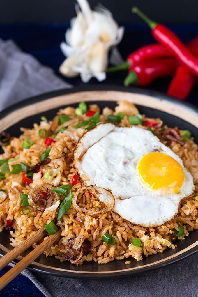 Indonesian Fried Rice | Use Mahatma White or Brown Rice to create this spicy, delicious, and satisfying dish.