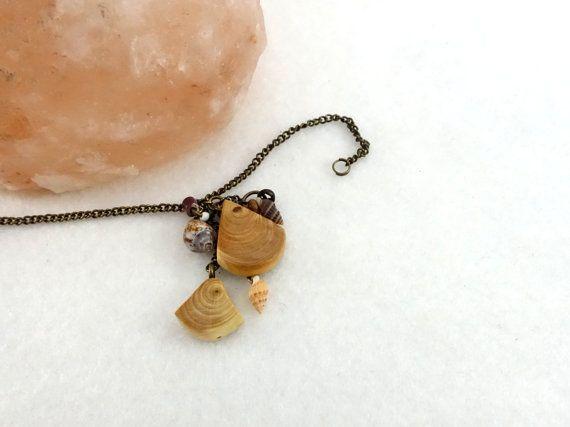 Bracelet breloques petites pièces géométriques en par LesBoisettes