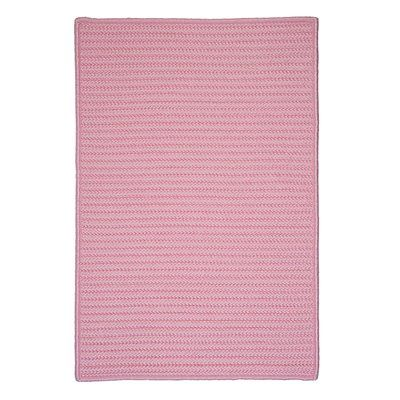 Colonial Mills H051R Simply Home Solid Area Rug, Light Pink
