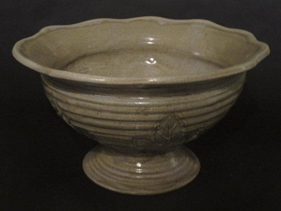 Large Handmade Pottery Vessel Sink