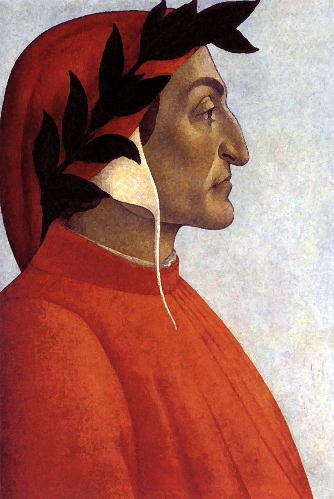 "Dante Alighieri:""Consider your origins: you were not made to live as brutes, but to follow virtue and knowledge""."