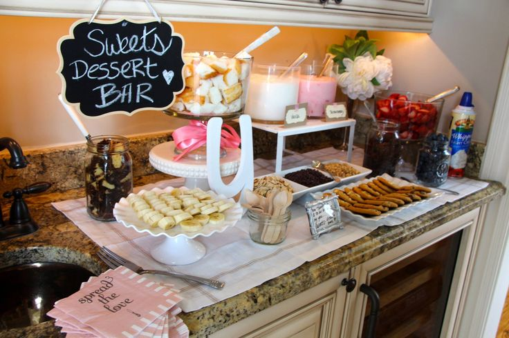 Dessert Bar House Warming Party Housewarming Party Ideas