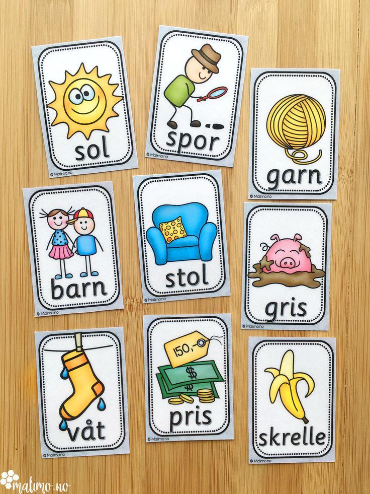 Bildekort og ordkort er fantastiske for tilpasset opplæring. Les mer om konkrete arbeidsmetoder for skriftlig og muntlig aktivitet på Malimo.no