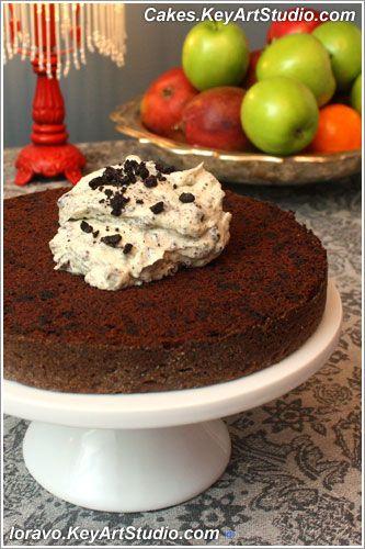 Тортик «Орео». Рецепт (Бисквит «Орео» и Крем «Орео») | Blog Loravo: Кулинарные записки дизайнера
