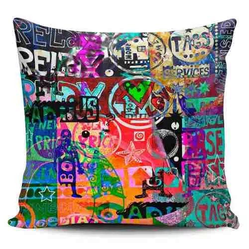 Cojin Decorativo Tayrona Store  Abstracto 44 - $ 43.900
