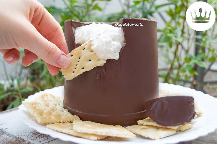Nhá benta gigante: faça com apenas 2 ingredientes no microondas