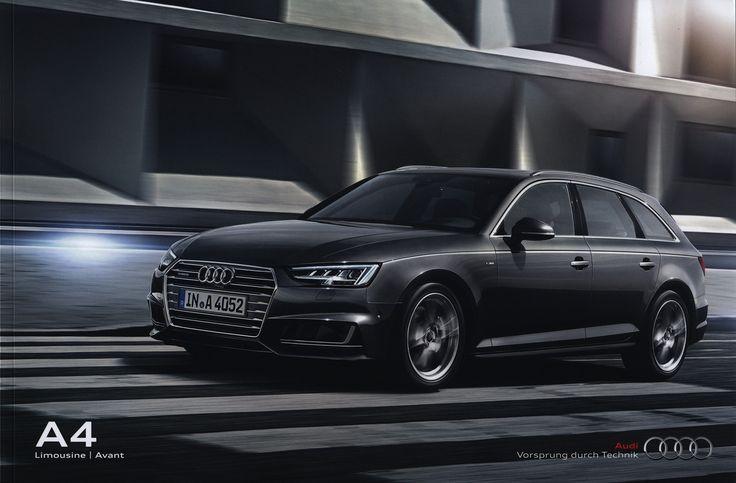 https://flic.kr/p/Pdsy6d | Audi A4 Limousine, Avant; 2015_1