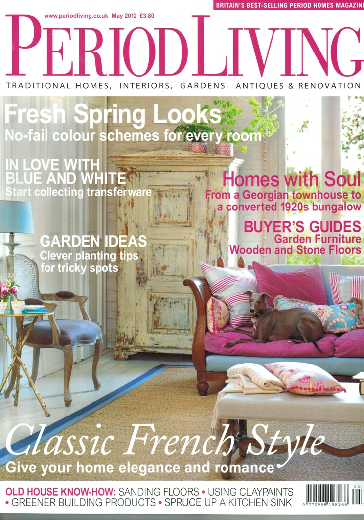 Period Living magazine May 2012 Featured: Reclaimed teak mirror in natural