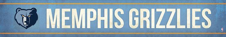 Memphis Grizzlies Street Banner $19.99