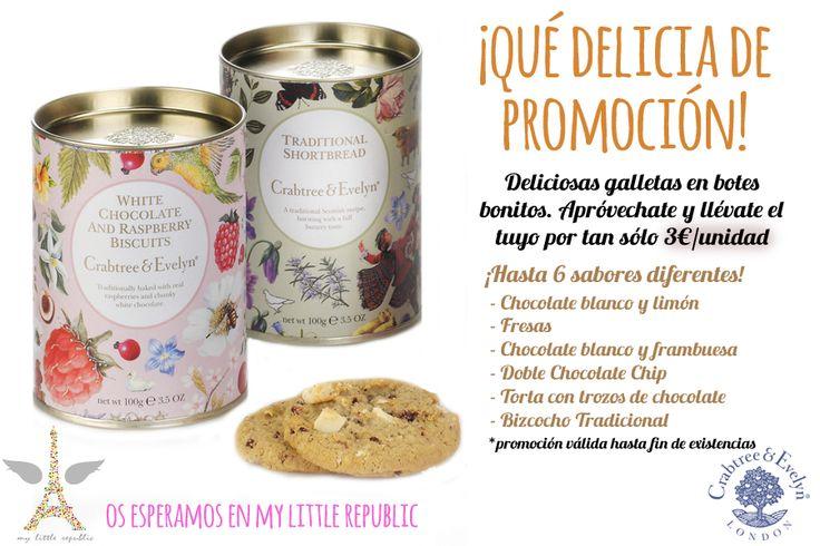 Promoción galletas Crabtree&Evelyn