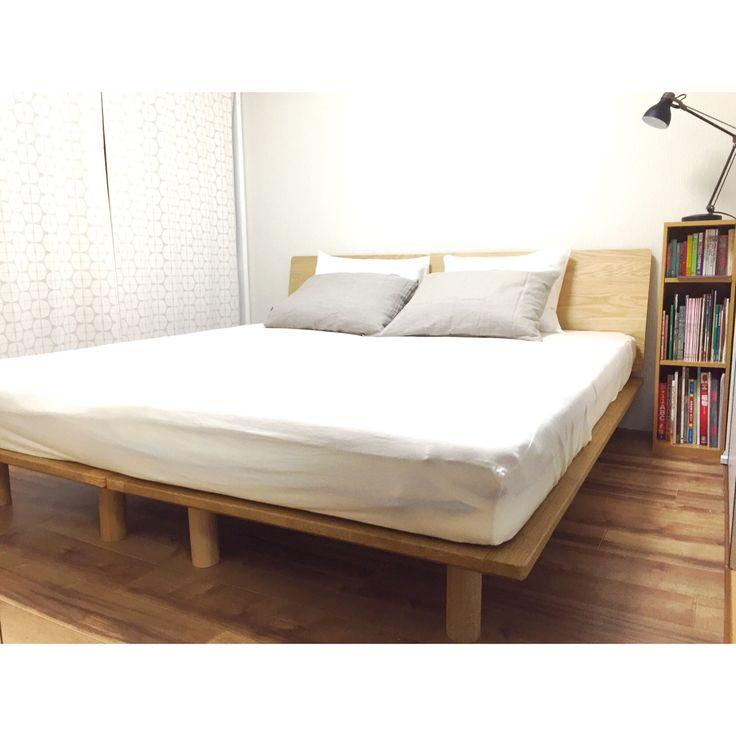 コーディネートno 925047 無印良品の家 寝室 レイアウト 模様替え