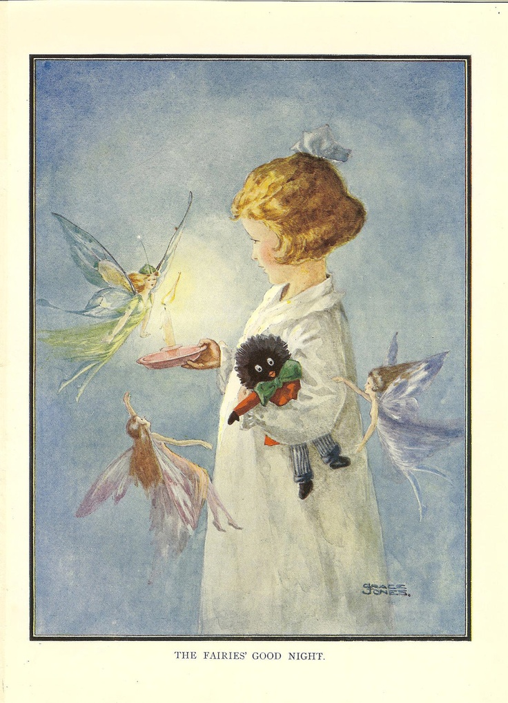 1920s Vintage Print Quot The Fairies Good Night Quot By Grace