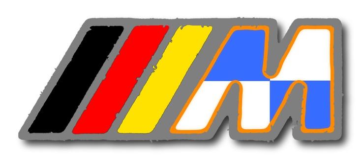 Custom BMW M Logo