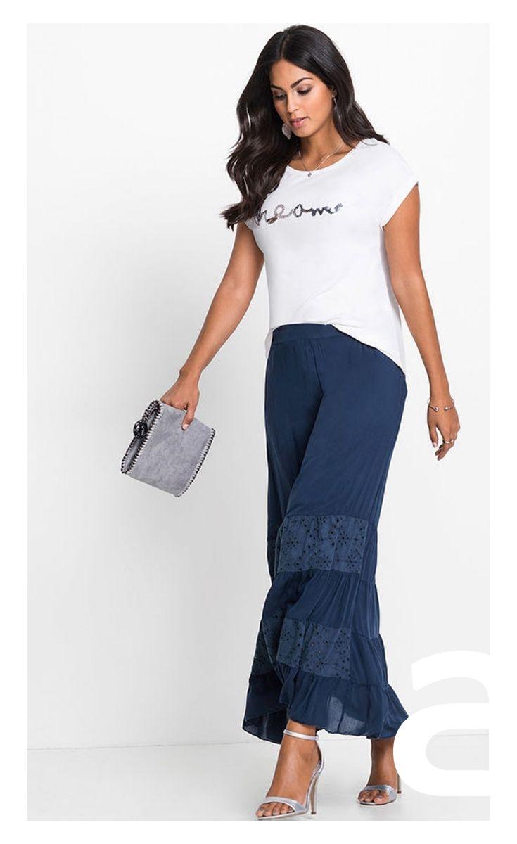 26e324ebe4c916 stylizacja damska, granatowa spódnica, długa spódnica, stylizacja wieczorna