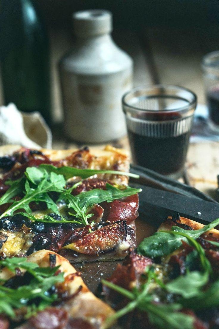 Sarah Tuck's Waiheke Fig Pizza